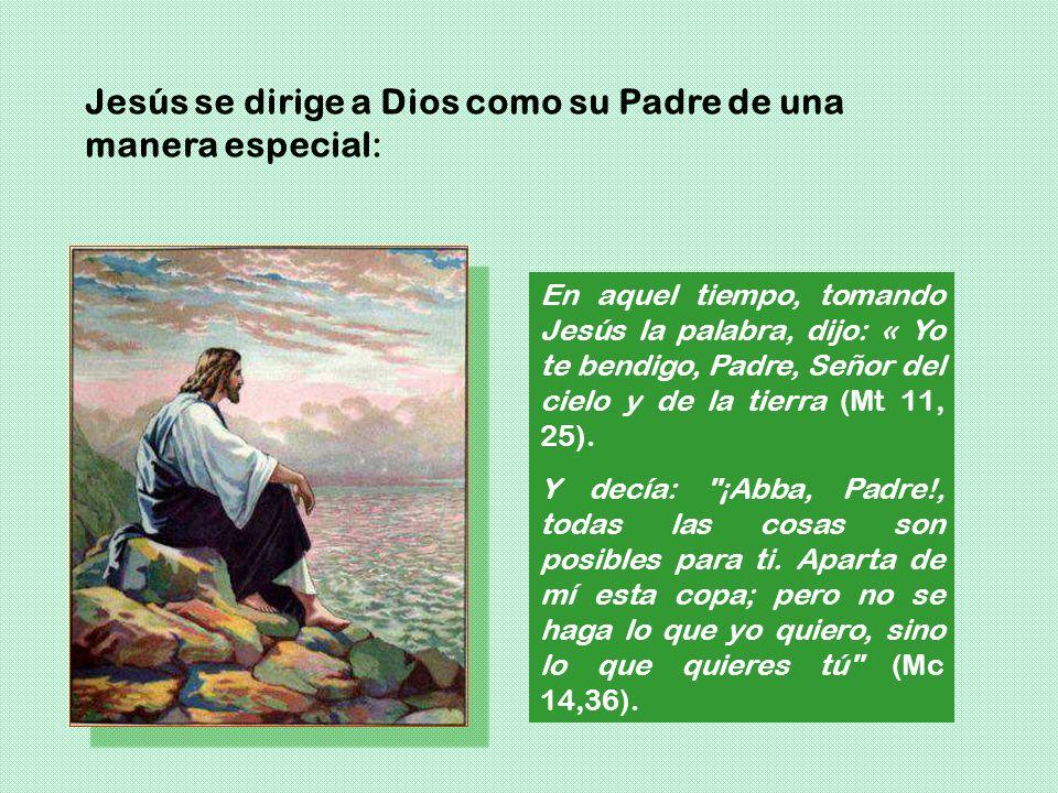 ¿Así pagáis a Yahvé, pueblo insensato y necio? ¿No es él tu padre, el que te creó, el que te hizo y te fundó? (Dt 32,6). Porque tú eres nuestro Padre,