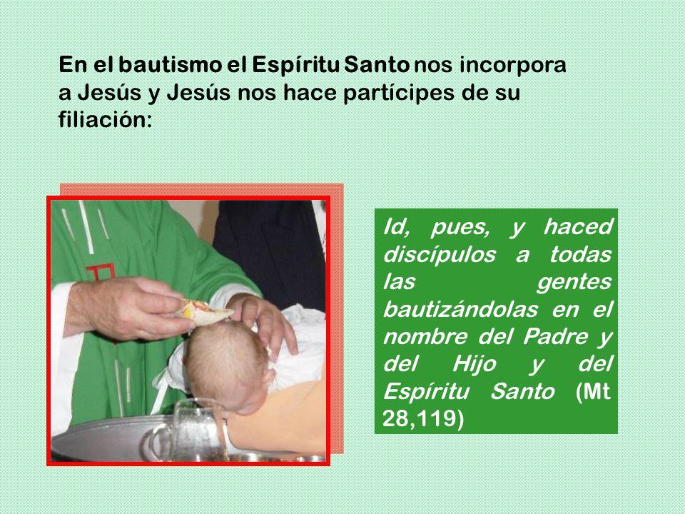 Dios es Padre de los cristianos de una manera especial, porque comparten la filiación de Jesús por la fe y el bautismo. En este caso Jesús distingue e