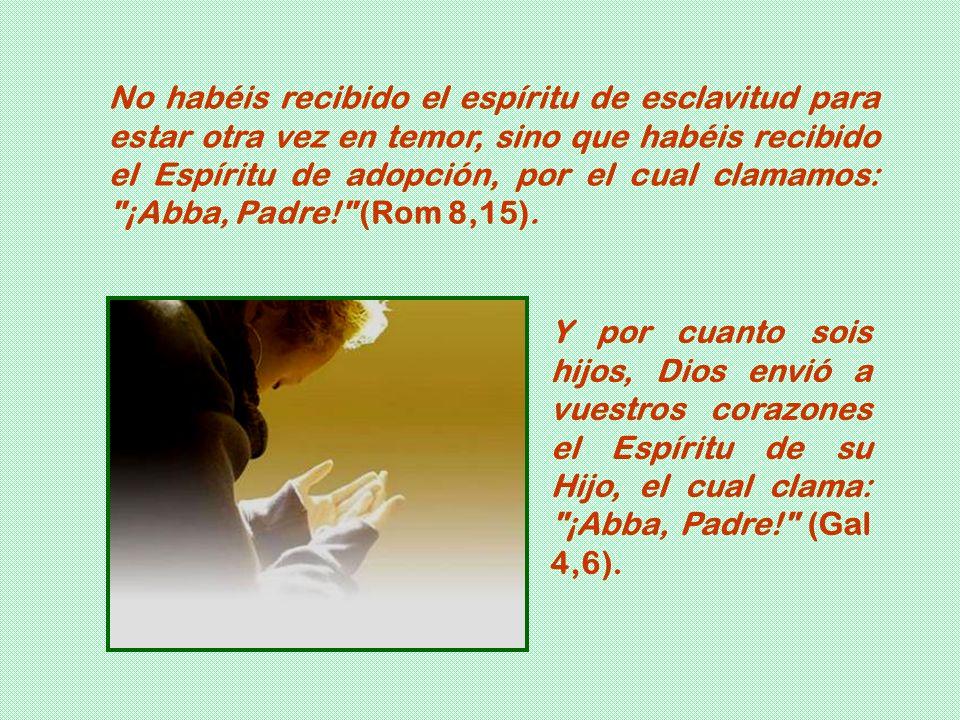 Y al orar, no charléis mucho, como los gentiles, que se figuran que por su palabrería van a ser escuchados. No seáis como ellos, porque vuestro Padre
