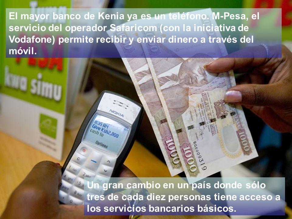 El mayor banco de Kenia ya es un teléfono.