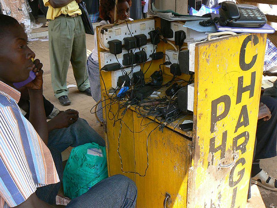 En África sólo el 10% de la población tiene una cuenta bancaria, pero el 50% tiene teléfono móvil.