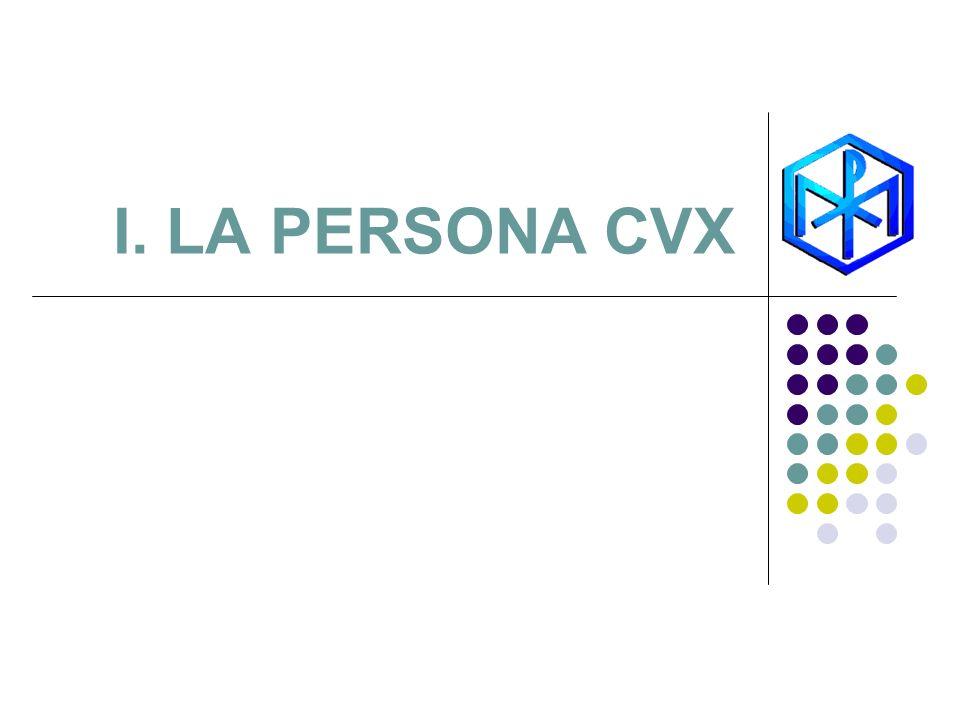 I. LA PERSONA CVX