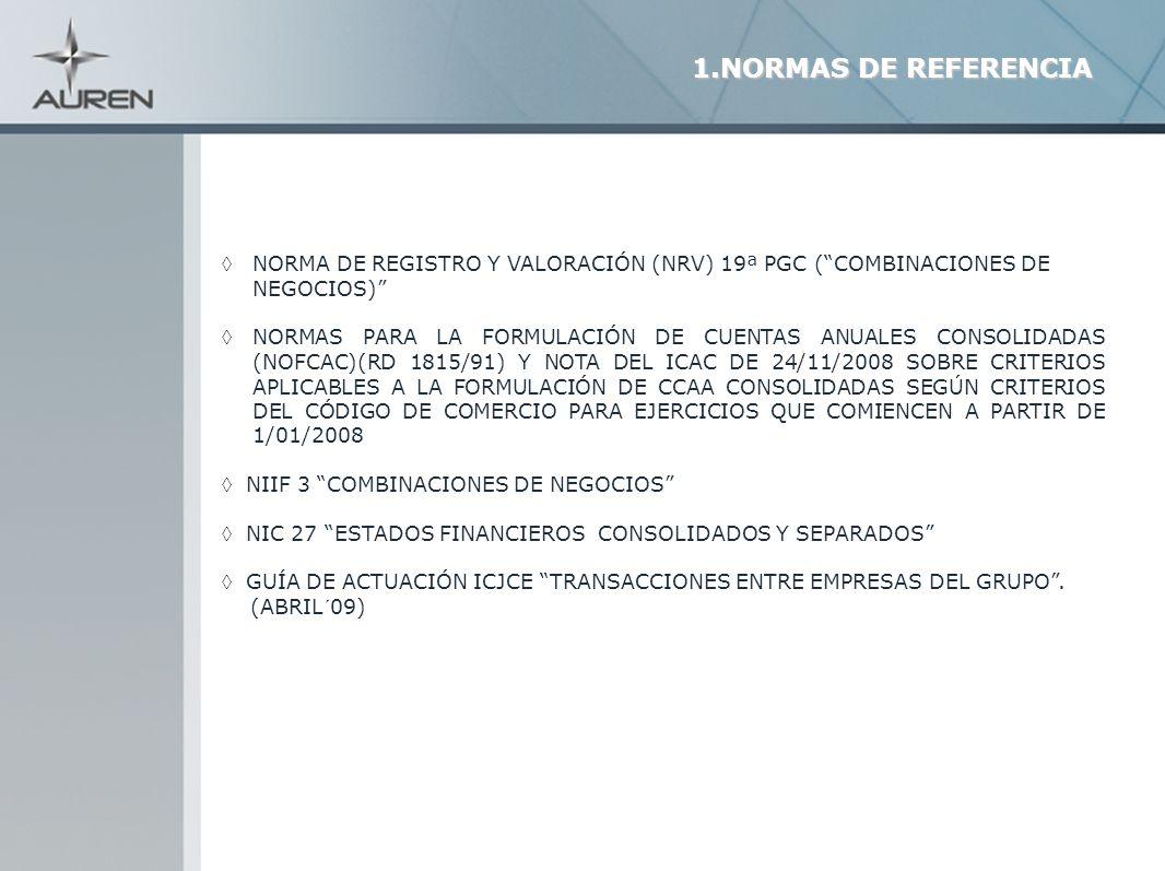 24 RELACIÓN DE DOMINIO O DE DEPENDENCIA (MADRE/HIJA) LOS ACTIVOS NETOS CONSTITUTIVOS DEL NEGOCIO SE CONTABILIZARÁN POR EL VALOR ASIGNADO EN LAS CUENTAS ANUALES CONSOLIDADAS DEL GRUPO O SUBGRUPO QUE CORRESPONDA.