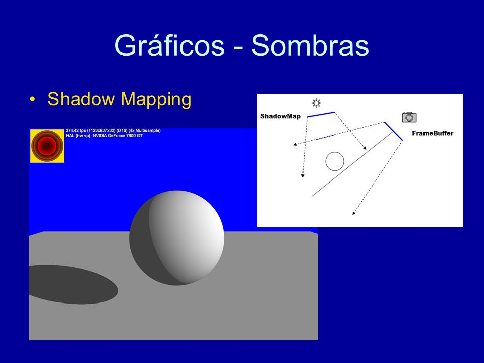 Gráficos - Sombras Shadow Mapping