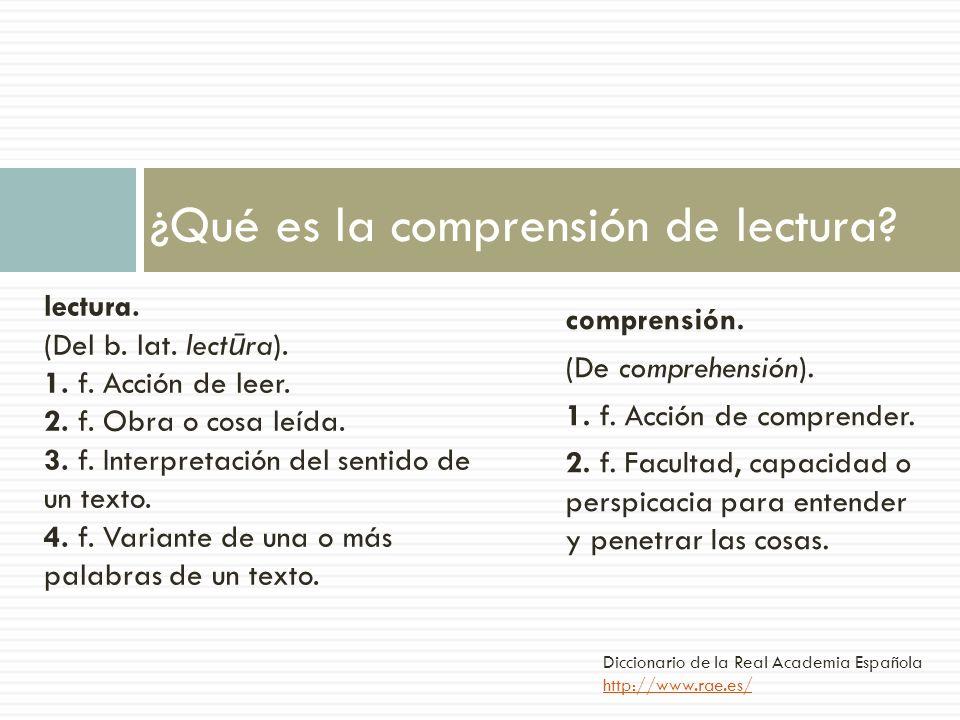 comprensión. (De comprehensión). 1. f. Acción de comprender. 2. f. Facultad, capacidad o perspicacia para entender y penetrar las cosas. ¿Qué es la co