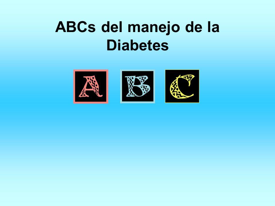 ABCs del manejo de la Diabetes