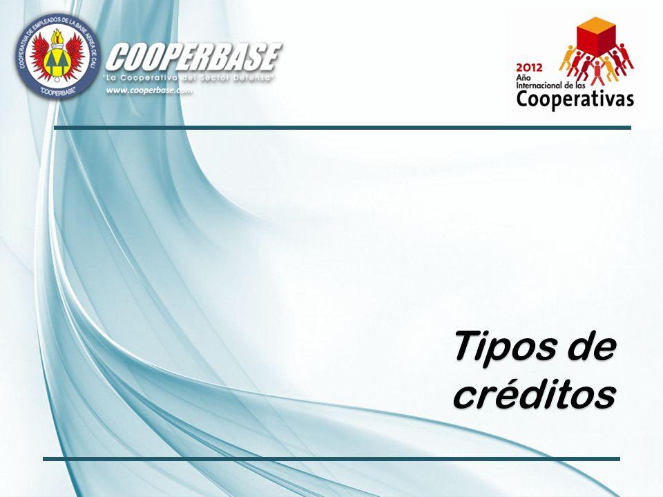 Tipos de créditos