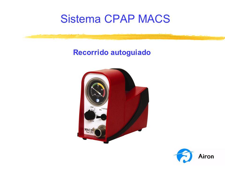 Sistema CPAP MACS Recorrido autoguiado