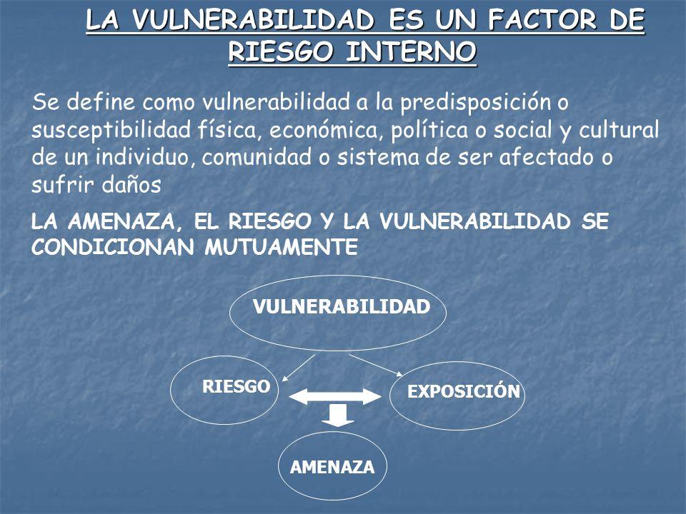LA MEJOR DE FORMA DE DISMINUIR LA VULNERABILIDAD CONSTRUCCIÓN DE CAPACIDADES INFORMACIÓN CONOCIMIENTOS