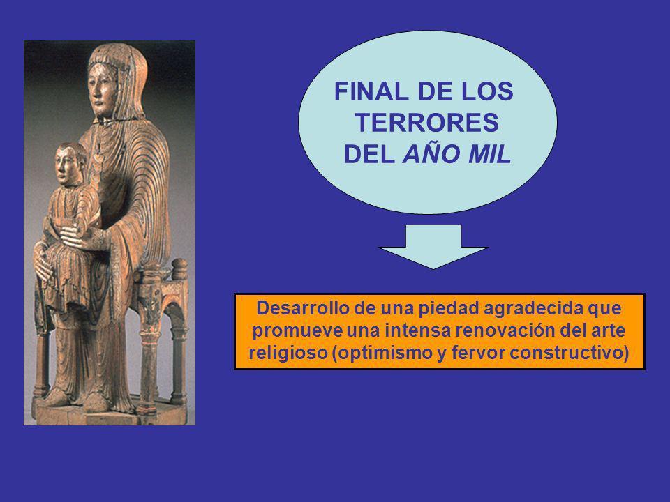 DESARROLLO DEL SISTEMA FEUDAL: MECENAZGO ARTÍSTICO DE LA NOBLEZA Y DEL CLERO.