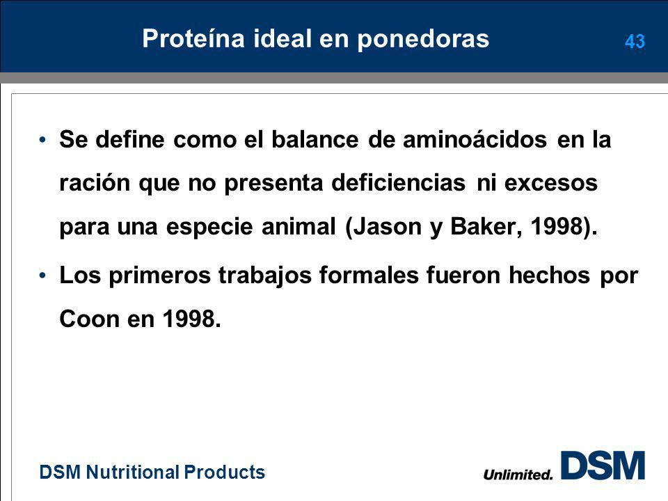 DSM Nutritional Products Actualidades en la nutrición de ponedoras