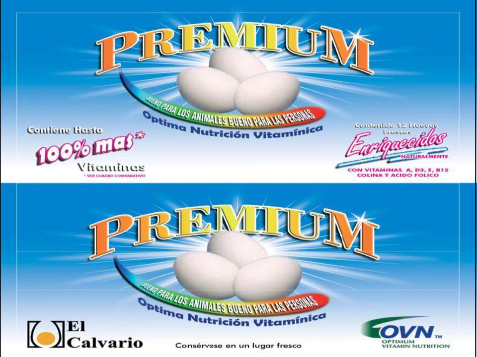DSM Nutritional Products 60 Clasificación de los huevos Diferenciados Diseñados o Enriquecidos 1.Huevos enriquecidos con vitaminas y minerales traza 2