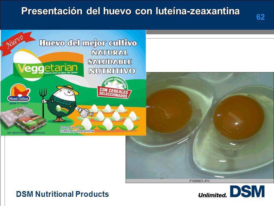 DSM Nutritional Products 61 Fotos huevos enriquecidos con mas vitaminas
