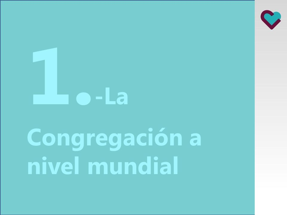 Índice presentación 1. La Congregación a nivel mundial 2. El Complejo Asistencial Málaga 3. Qué hacemos 4. Principales hitos del año 2012 5. Retos par