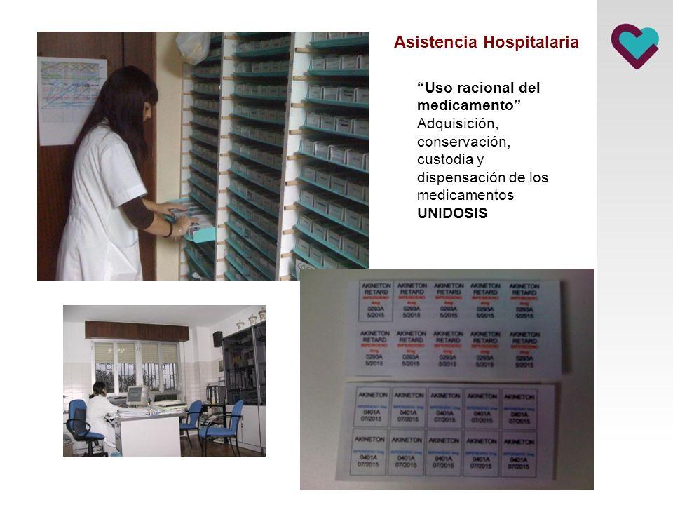Asistencia Hospitalaria Asistencia Participación de los usuarios y sus familias Grupo de Psicoeducación y apoyo emocional Programa de control de facto