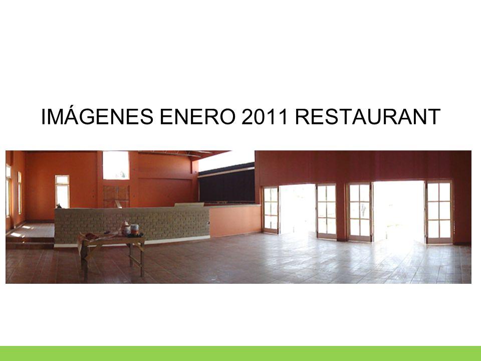 IMÁGENES ENERO 2011 RESTAURANT