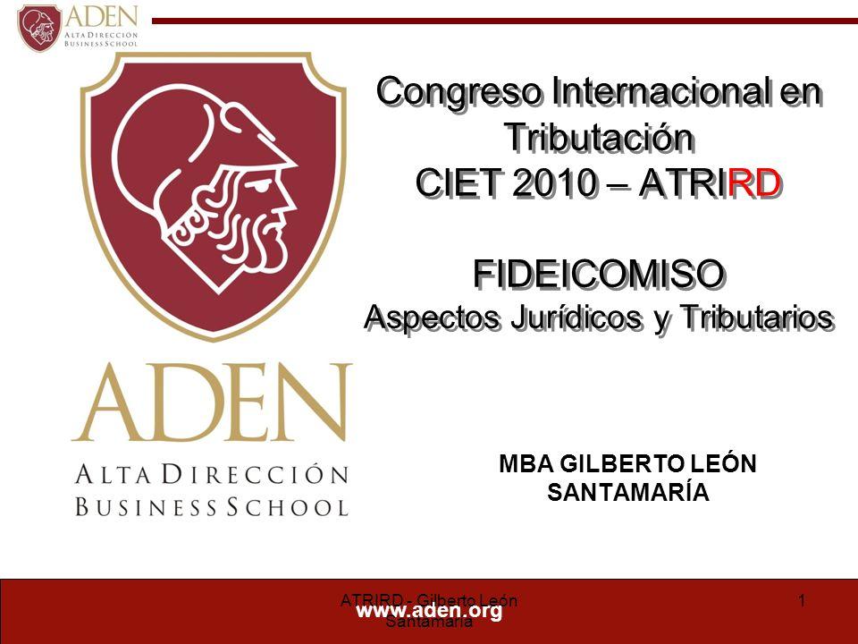 Curriculum Vitae Gilberto León Santamaría Suárez Lago Abogado, (U.