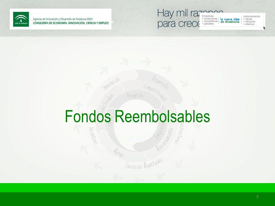 8 Fondos Reembolsables