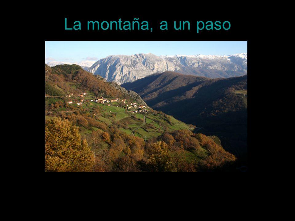La montaña, a un paso
