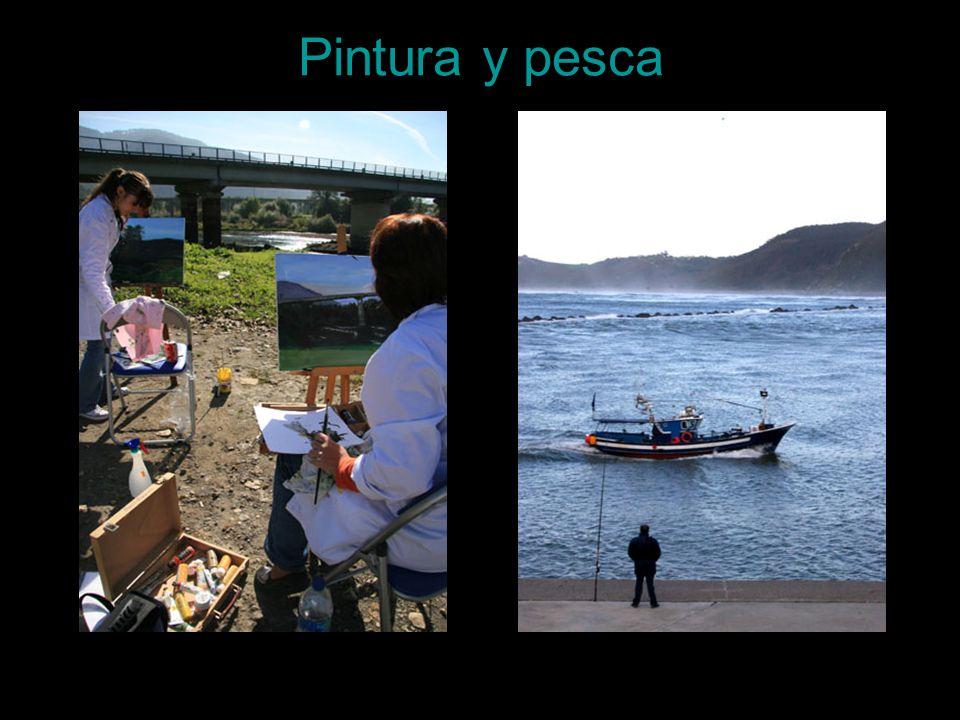 Pintura y pesca