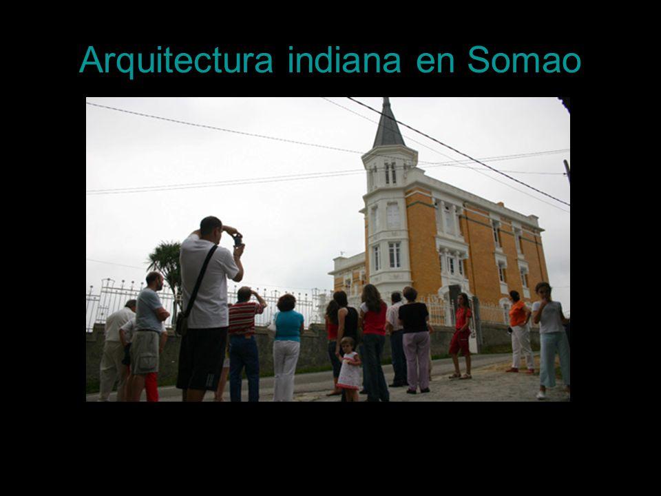 Arquitectura indiana en Somao