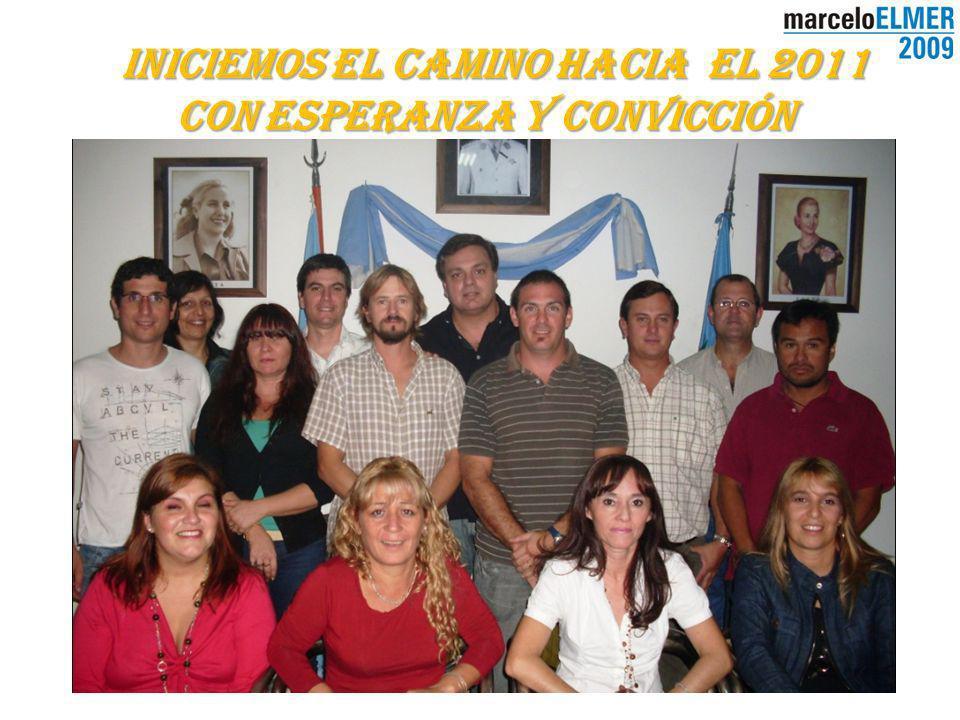 Iniciemos el camino hacia el 2011 con Esperanza y Convicción