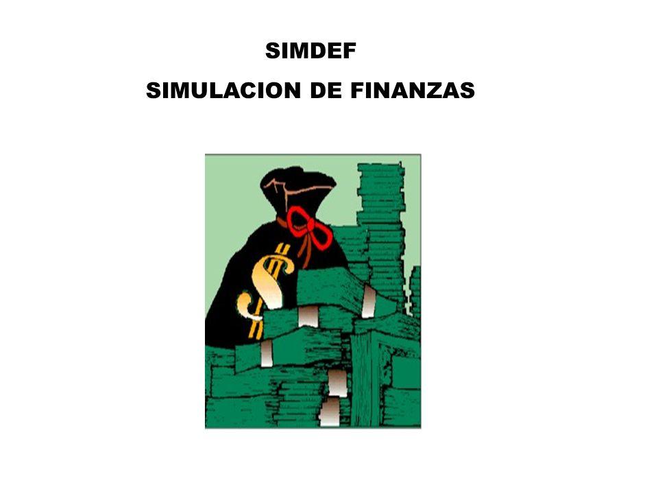 SIMULACION DE FINANZAS
