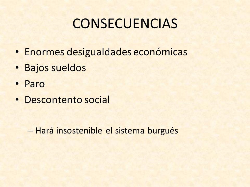PROCESO HISTÓRICO La caída del sistema burgués del capitalismo industrial es inevitable, es parte del proceso histórico La finalidad de este proceso es la llegada de un nuevo sistema de producción: el sistema comunista.