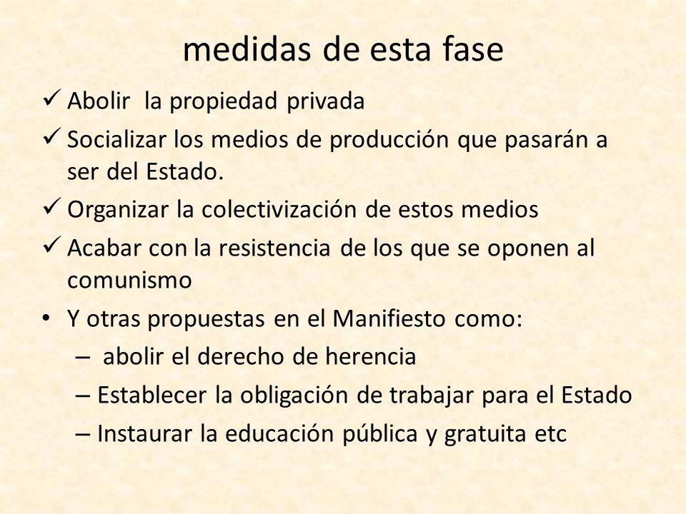 SOCIEDAD COMUNISTA Solo después de la dictadura del proletariado se puede abolir el Estado e instaurar la sociedad comunista.