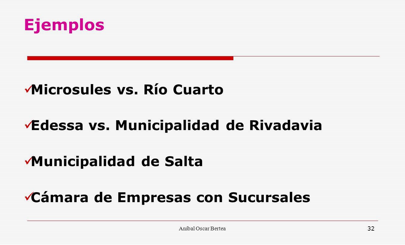 Aníbal Oscar Bertea 32 Microsules vs. Río Cuarto Edessa vs. Municipalidad de Rivadavia Municipalidad de Salta Cámara de Empresas con Sucursales Ejempl