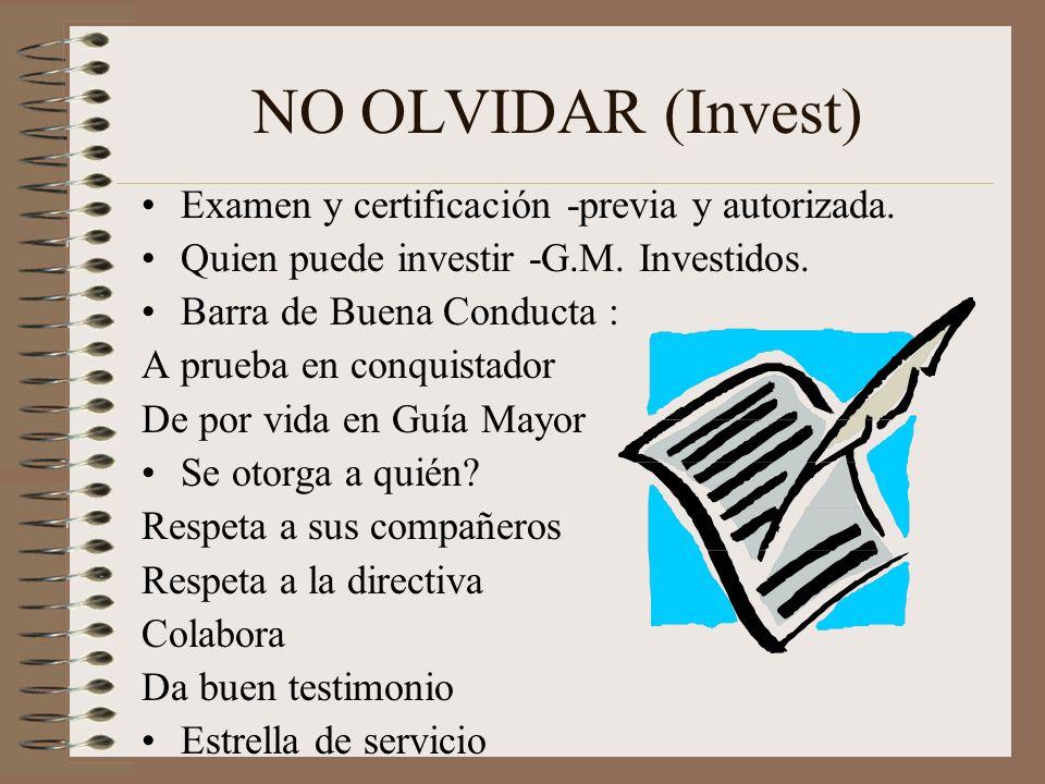 PROGRAMA SUGERENTE (Investidura) Servicio de canto Música especial Lectura bíblica Bienvenida Oración Voto del conquistador Ley del conquistador Músic