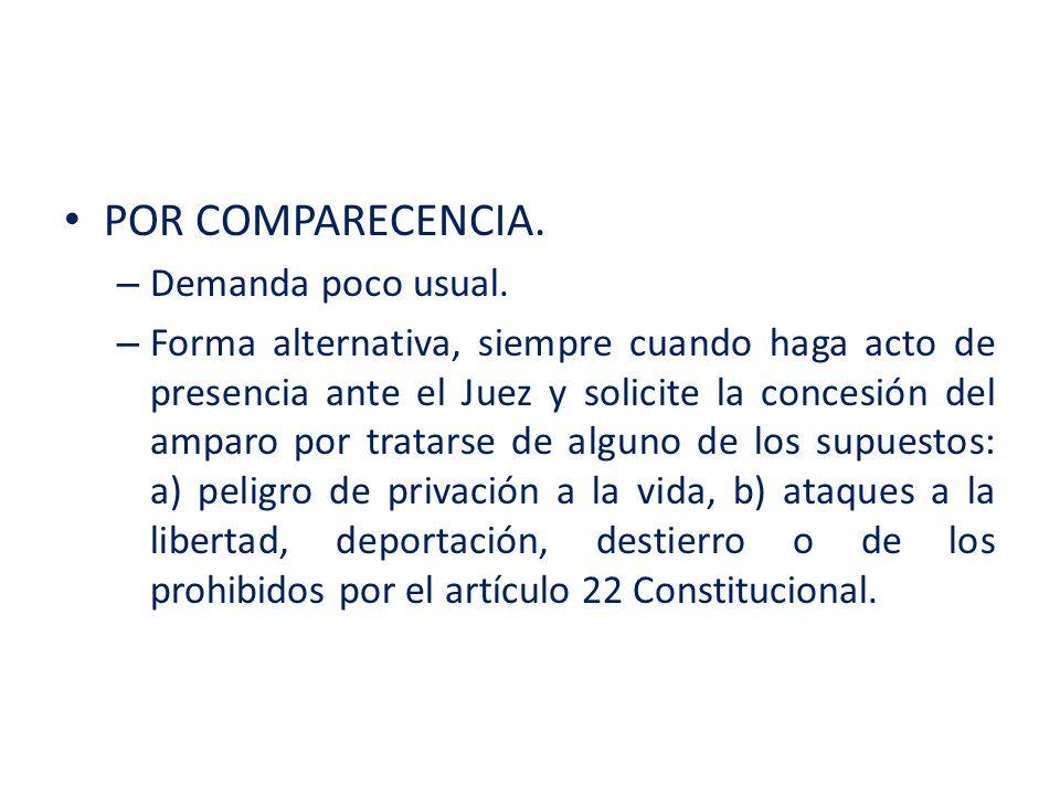 – DECIMO SEGUNDO.En los casos en los que se solicita la suspensión del acto reclamado.