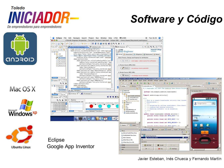 Javier Esteban, Inés Chueca y Fernando Martín Software y Código Visual Studio GAMBAS