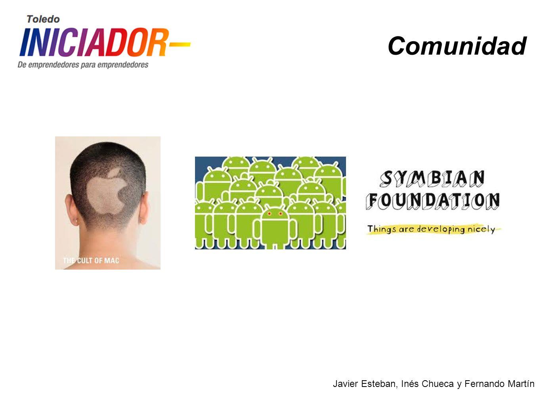 Javier Esteban, Inés Chueca y Fernando Martín Comunidad