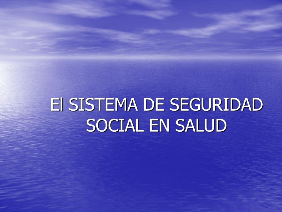 PRINCIPIOS DE LA SEGURIDAD SOCIAL IGUALDAD: Que los beneficios otorgados sean idénticos para todas las personas.