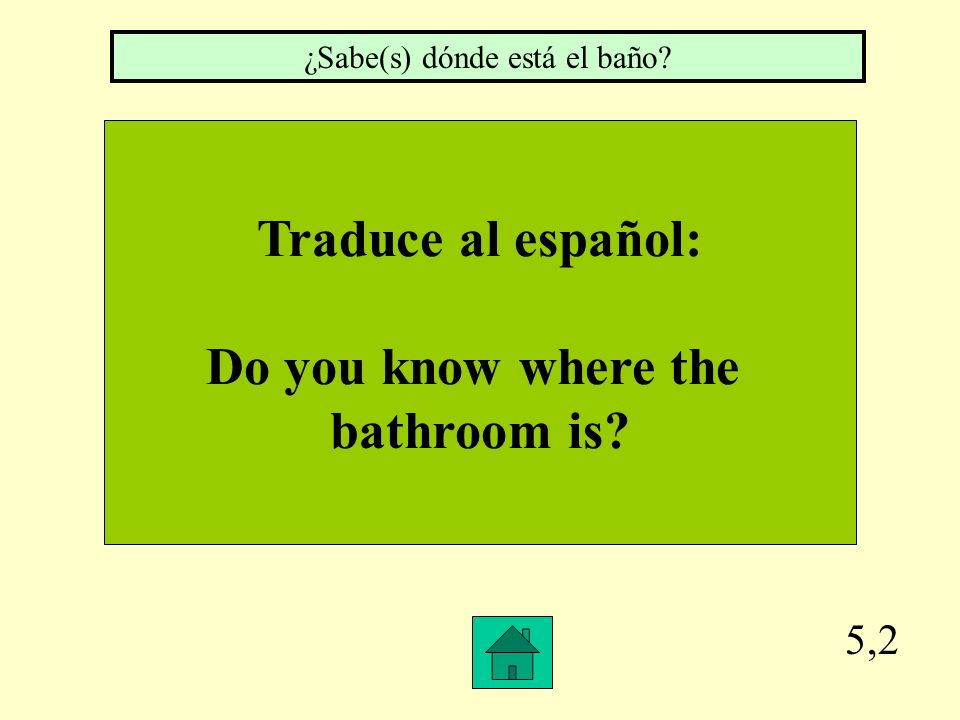 Traduce al español. My neighbor (f.) knows how to speak four languages. Mi vecina sabe hablar cuatro idiomas.