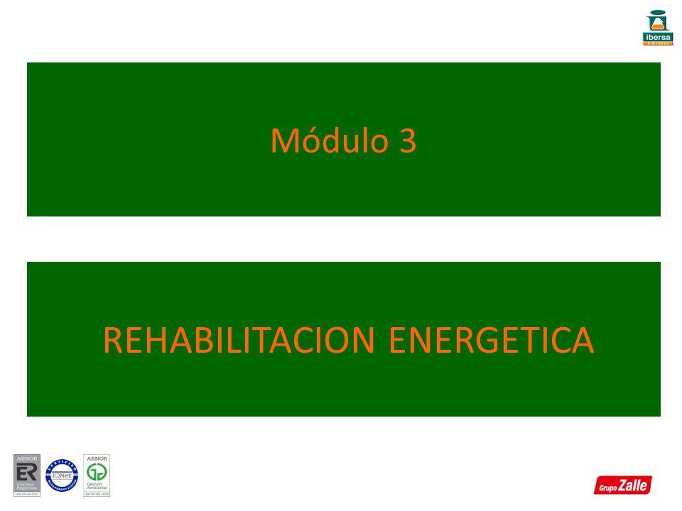 Módulo 3 REHABILITACION ENERGETICA
