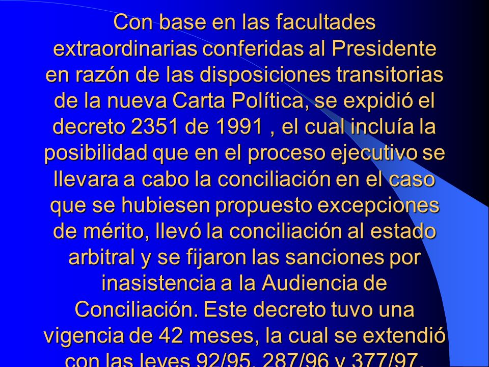 LA AUDIENCIA DE CONCILIACION 1.- Inicio.
