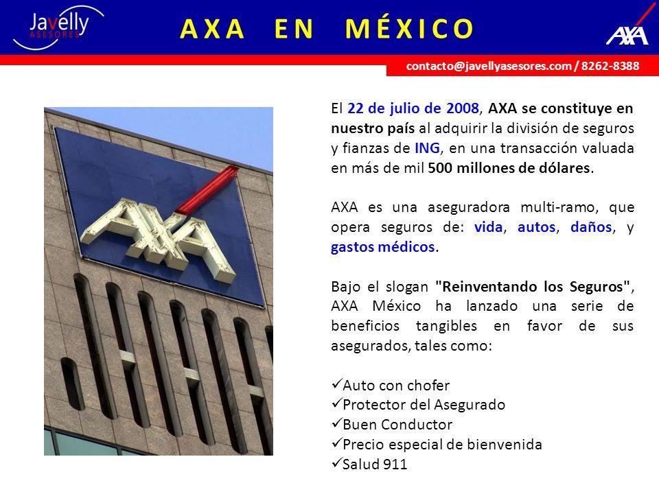 Cifras en México Cuenta con más de 8 mil agentes de seguros a nivel nacional.