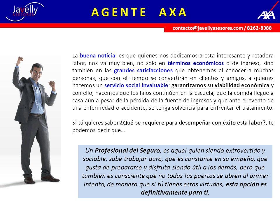 UNIVERSIDAD AXA Convertirte en un asesor de seguros, es algo que demanda talento y conocimiento.