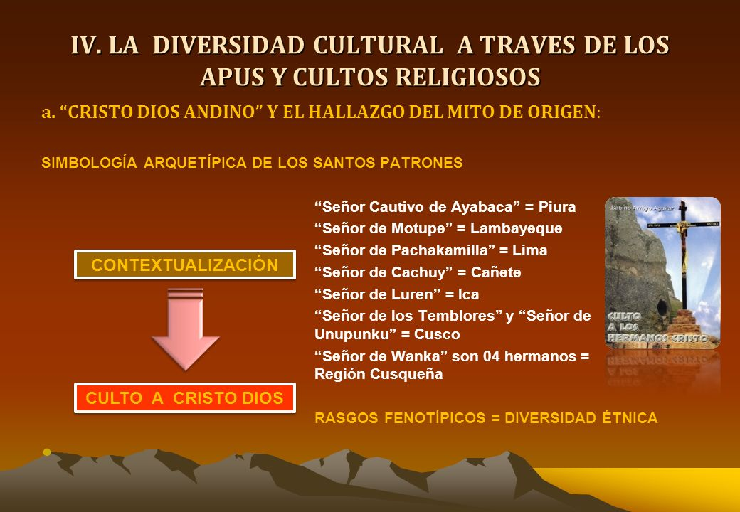 III. CULTURA ECOLOGISTA DE LA RELIGION ANDINA : Sistema de Reciprocidad Social Andina dentro del Contexto de la Economía Agropecuaria PROCESO DE AUTOR