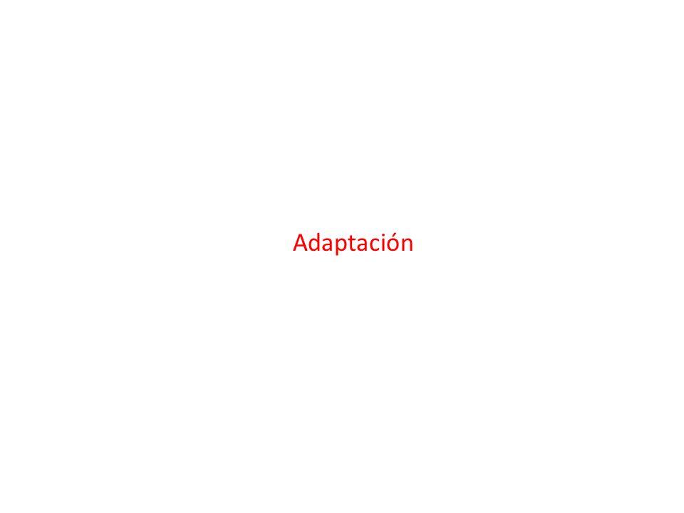 Definición y Tipos de Adaptación Definición : Iniciativas y medidas encaminadas a reducir la vulnerabilidad de los sistemas naturales y humanos Tipos de Adaptación Preventiva y reactivaPrivada y publicaAutónoma y planificada
