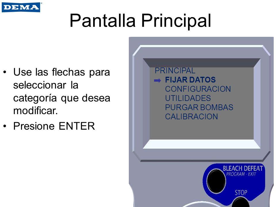 Utilidades Se utiliza para fijar un código de acceso.