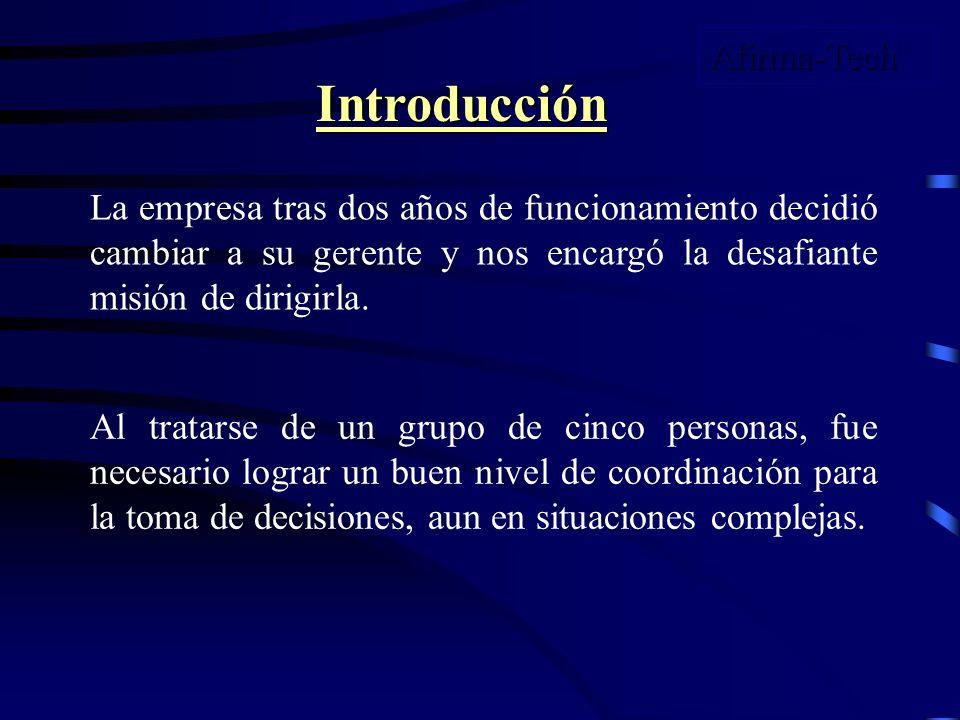 Ejemplo de Informe Inicial Desde sus Inicios, fue una empresa no muy estable, como se puede apreciar el los Estados Financieros, debido a expansión, y