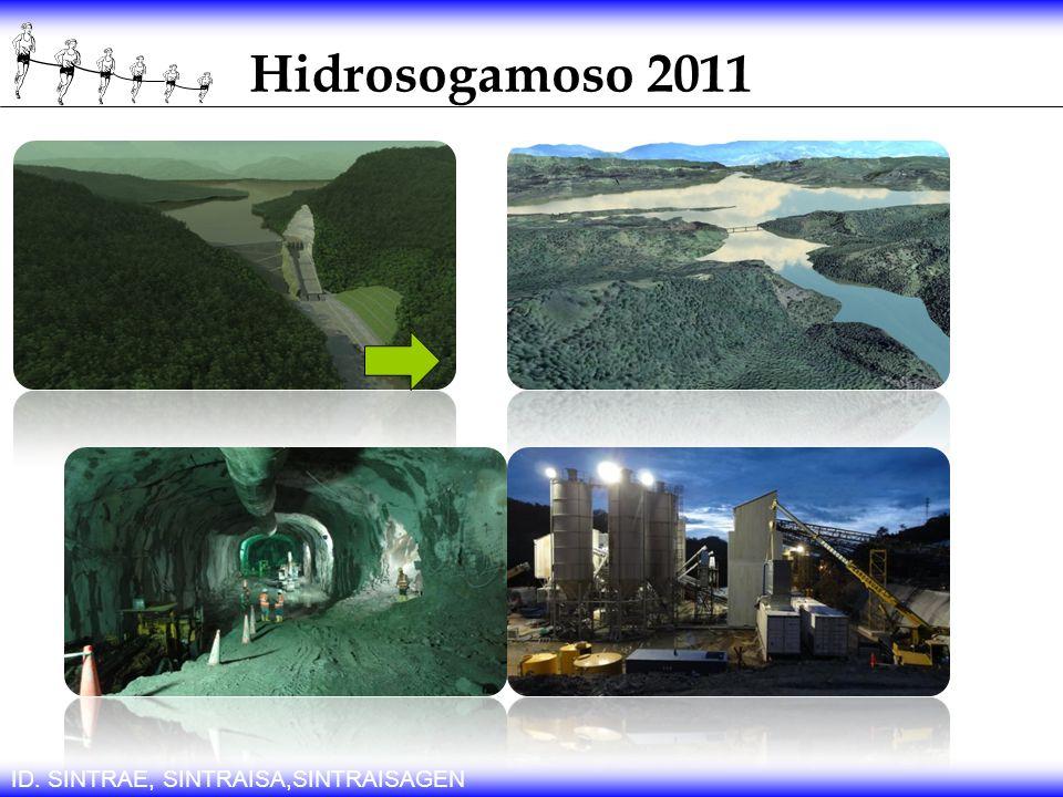 Hidrosogamoso 2011 ID. SINTRAE, SINTRAISA,SINTRAISAGEN