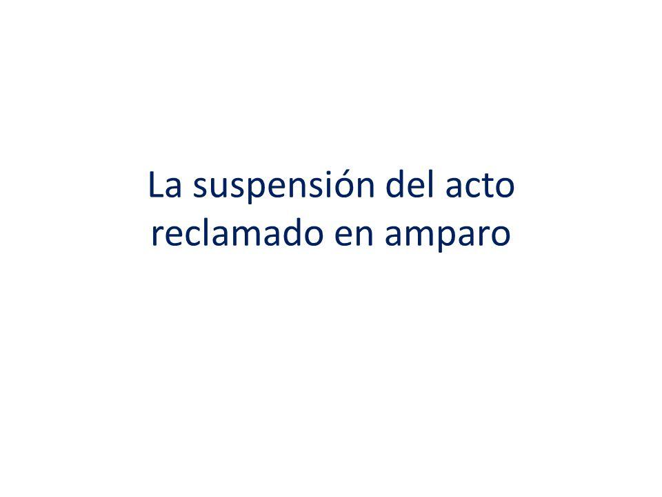 – No existe suspensión provisional en el amparo directo, por lo que tampoco existe audiencia incidental, de ahí que de otorgarse la suspensión, la misma permanece hasta que se cumplimenta la ejecutoria por parte de la propia responsable.