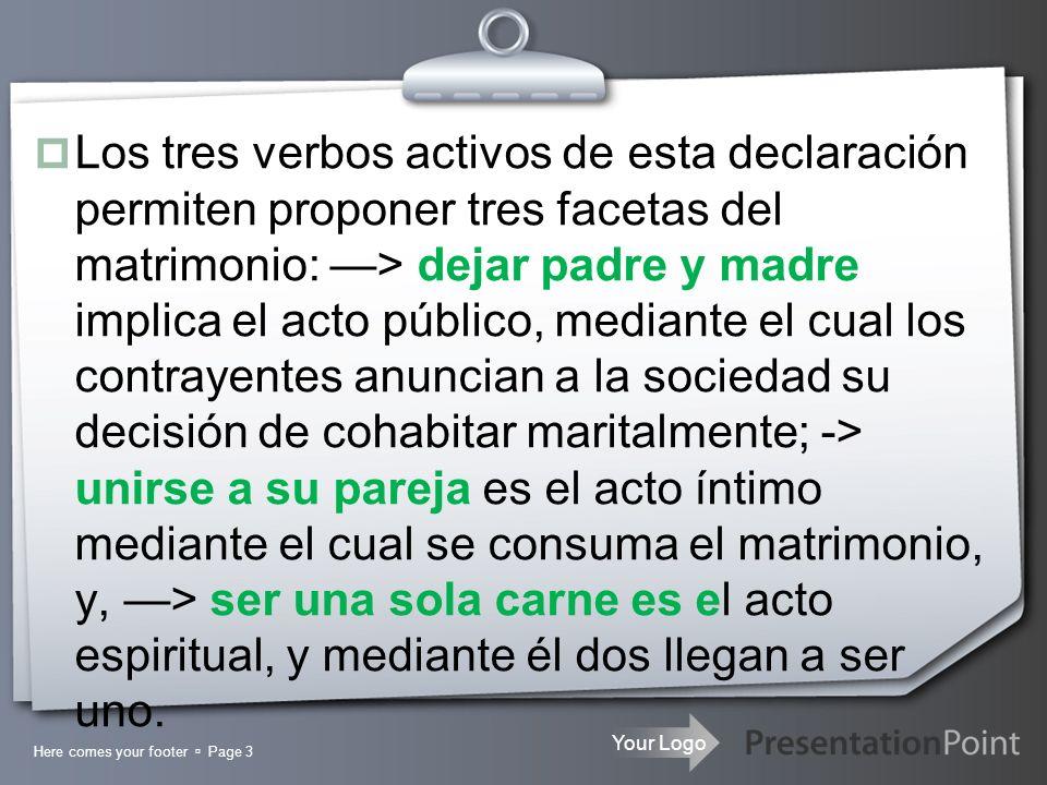 Your Logo Pastor Pablo Logis Page 14 II – EXCLUSIVIDAD SEXUAL.