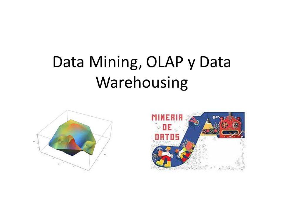 MOLAP: –Datos Arrays Extraídos del almacén de datos –almacenamiento y procesos eficientes –la complejidad de la BD se oculta a los usuarios –el análisis se hace sobre datos agregados y métricas o indicadores precalculados.