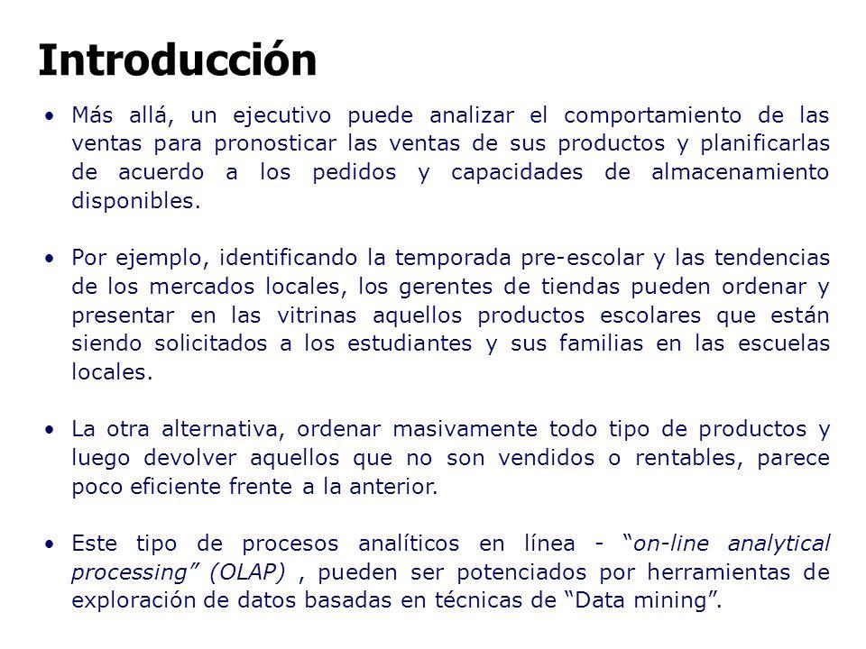 Proceso de Descubrimiento de Conocimiento (Knowledge Discovery and Data Mining) Minería de datos.