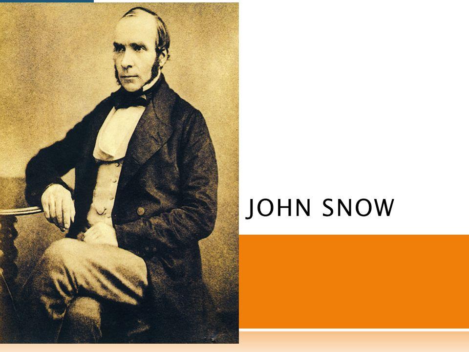 Snow se dio cuenta de que estaba frente a un experimento natural a través del cual podría demostrar su hipótesis.